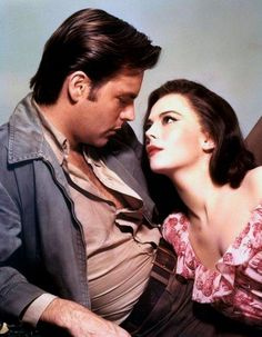 """Natalie Wood and Robert Wagner in """"All the Fine Young Cannibals"""""""