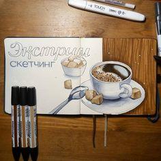 4 Self-Reliant Tips AND Tricks: Coffee Wallpaper White starbucks coffee drinks.Coffee Lover Names healthy coffee ideas. Coffee Menu, Coffee Date, Coffee Signs, Coffee Drinks, Copic Marker Art, Copic Markers, Tips And Tricks, Coffee Drawing, Coffee Painting