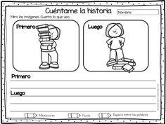 Cuaderno de ESCRITURA CREATIVA Causa-Efecto - Imagenes Educativas Elementary Spanish, Spanish Classroom, Elementary Schools, Writing Prompts, Education, Comics, Reading, Google, Texts