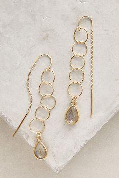 Alhambra Threaded Earrings - anthropologie.com