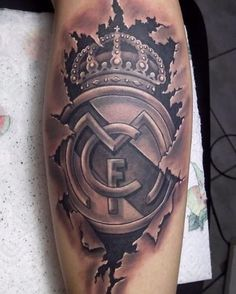 Real Madrid tattoo