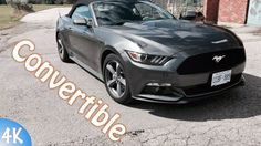 2017 Convertible Ford Mustang || Car Tech Review