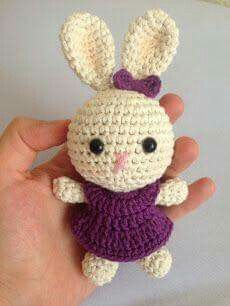 Little rabbit crochet for cids