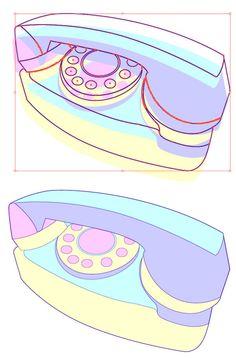 Create a Retro Phone Illustration in Adobe Illustrator - Tuts+ Design & Illustration Tutorial