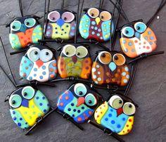Owls by Anne Schelling
