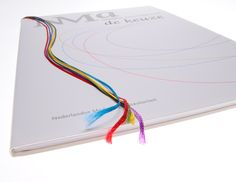Annual report with 5 coloured bookmarks