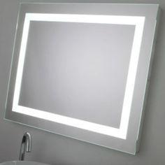 Espejo ba o con luz led blanco espejos de ba o con luz for Espejos con luz integrada