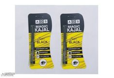 Eyes ADS Eye Care 12 Hr Waterproof Kajal Pencil Black (Pack Of 2) Product Name: ADS Magic Kajal Yellow ( Pack Of 2 ) Brand Name: ADS Product Type: Kajal  Capacity: 0.35 gm Package Contains: It Has 2 Pack  Kajal Country of Origin: India Sizes Available: Free Size *Proof of Safe Delivery! Click to know on Safety Standards of Delivery Partners- https://ltl.sh/y_nZrAV3  Catalog Rating: ★3.9 (2966)  Catalog Name: Free Gift Ads Eye Care 12 Hr Waterproof Kajal Pencil Black Vol 5 CatalogID_441461 C51-SC1242 Code: 211-12057131-
