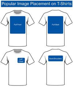 Choosing the Right Size for your Custom Transfers - Pro World Inc.Pro World Inc. Shirt Logo Design, Shirt Designs, Popular Logos, Shirt Label, Shirt Template, Clothing Logo, Business Shirts, T Shirt Diy, Cute Shirts