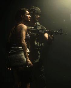 Carlos Resident Evil, Resident Evil Nemesis, Resident Evil Girl, Resident Evil 3 Remake, Star Trek Enterprise, Star Trek Voyager, Male And Female Animals, Valentine Resident Evil, Evil World