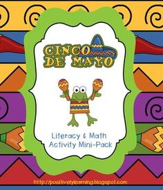 Here's a freebie packet filled with fun literacy and math activities celebrating Cinco de Mayo! Activities include: Making Words, vocabulary cards to put in ABC order, Acrostic Parts of Speech, Tic Tac Toe with addition and subtraction, and 3 Number Puzzles!