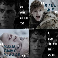 I'm not crying, you are. #newt #mazerunner #tdc #newtmas