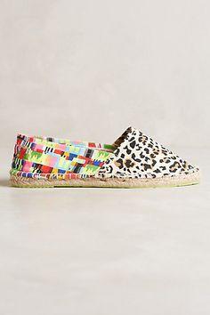 Mara Hoffman Jaguar Espadrilles - anthropologie.com #anthrofave On Shoes, Shoe Boots, Espadrilles, Shoes 2014, Glass Slipper, Types Of Shoes, Mara Hoffman, Flats, Jaguar