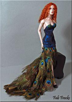 https://flic.kr/p/8V4AAu | peacock gown