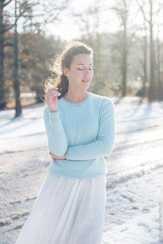 Pastel Blue Olivia Poncelet winter outfit