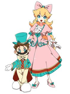 """hype-kaminari-kun: """"マリオとディズニーつめあわせ by ちこみん on pixiv ** Permission was granted by the artist to upload this submission! Check out their other amazing work and make sure to give them ten stars! Peach Mario, Mario And Princess Peach, Mario Fan Art, Super Mario Art, The Legend Of Zelda, Resident Evil, Nintendo Princess, Princesa Peach, Super Mario Brothers"""