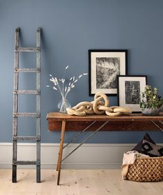 2020 Colour Trends: Cool, Calm & Collected Right Here! Interior Wall Colors, Interior Walls, Interior Design, Paint Colors For Home, House Colors, Home Decor Trends, Color Trends, Colorful Interiors, Bedroom Decor