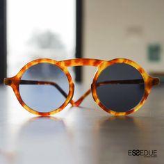 Essedue Sunglasses Handmade and Designed in Italy Circle Sunglasses, Original Design, Handmade Design, Glasses