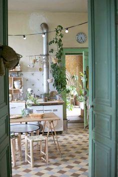 10 Cocinas vintage en menta, ¿te atreves? | La Cucharina Mágica