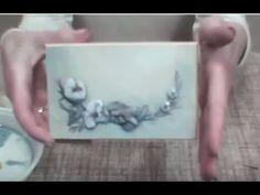 Как декорировать шкатулку в технике 3D - YouTube