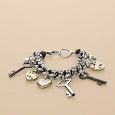 Kappa Key bracelet from fossil. Mark your product with your very own R-Buster logo hand Stamp http://www.columbiamt.com/store/Logo_R-Buster_Hand_Stamps.html