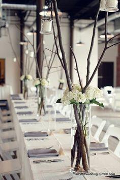 Wedding table ideas - simple and oh so | http://wonderfulweddingphotos.blogspot.com