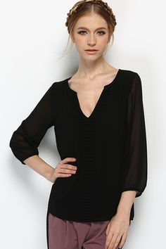 Cassidy Tunic in Black