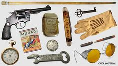 Everyday Carry: 1900-1920 - great ideas for items 1900-1920s era characters might have...
