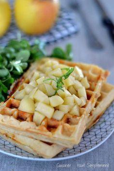 Une idée simple pour votre repas du soir .... Ingrédients ( pour 6 personnes ) 150g de Mozzarella8 tranches fines de chorizo3 pommes Tentation175g d farine50g de beurre4 oeufs150ml de laitsel, poivre Préparation: Découper la mozzarella et le chorizo en...