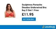 Sculptress Panache Deedee Underwired Bra Buy 2 Get 1 Free, £11.95 at ebay