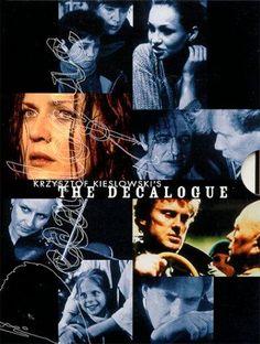 """The Decalogue"" (1989) With Artur Barcis, Olgierd Lukaszewicz, Olaf Lubaszenko, Piotr Machalica. Ten television drama films, each one based on one of the Ten Commandments."