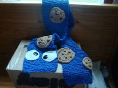 Cookie Monster scarf