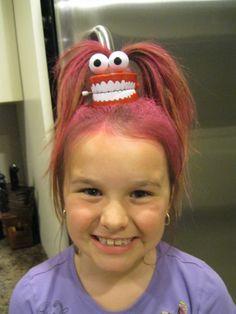 Wacky crazy hair day!