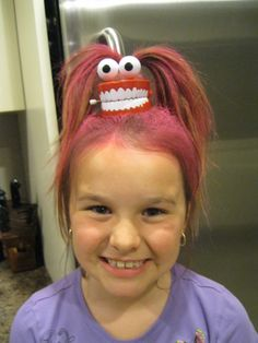 Wacky crazy hair day!