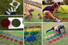 8 activités vraiment chouettes pour les enfants - Page 7 - Vacances - Printemps et été - Activités - Mamanpourlavie.com Outdoor Games, Funny Games, Activities For Kids, Kids Rugs, Camping, Birthday, Simple, Centre, Alphabet