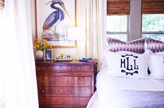 5 Bedroom Decor Rules That Are Meant To Be Broken// bed in front of a window