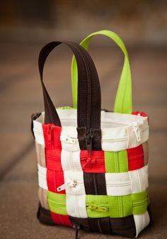 Weave a Zipper Purse | Sewing Secrets - A Blog by Coats & Clark