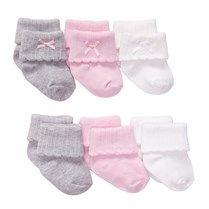 Kız Bebek 6'lı Çorap