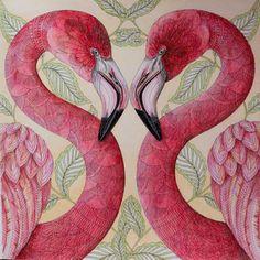 Hotovo :-) #tropicalwonderland #milliemarotta #coloring #coloringbook…