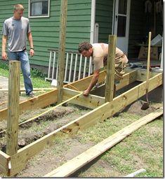 Charmant Plans To Build Building A Handicap Ramp Blueprints .