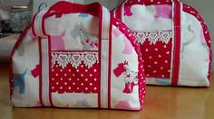 Another handbag for you to sew by Debbie Shore! Zipped and lined.