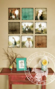 "Picture framing ideas | Top 10 easy DIY home decor projects do this with wedding pictures ""you will"" ""forever be"" ""my always"""