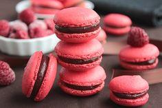 Macarons Chocolat au Lait & Framboise 12