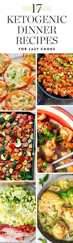 17 Ketogenic Dinner Recipes for Lazy Cooks #keto #ketogenic #diet #easyrecipes #recipe