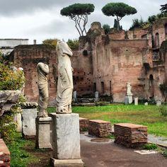Na Janelinha para ver tudo: O Templo das Virgens Vestais no Fórum Romano