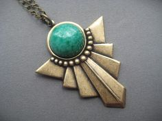 Hey, I found this really awesome Etsy listing at https://www.etsy.com/listing/192603586/art-deco-jewelry-art-deco-necklace-jade