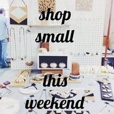 Forget Black Friday! It's a load of nonsense! Instead this weekend let's SHOP SMALL! Wherever you are there are hundreds of independent designer makers selling their beautiful wares at fairs and markets so support them instead of the big retailers.  Today and tomorrow I'll be at All The Fun Of The Christmas Fair in the Church of Annunciation Bryanston Street W1H 7AH. This afternoon from 3 - 8 is the candlelit soirée! Then we're open again tomorrow from 10 - 4. Then on Sunday it's the first…