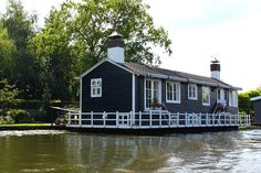 Houseboat in the Netherlands