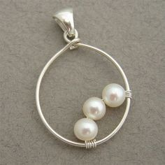 Fashion for pearls (selection and bonus) & Jewelery and bijouterie & SECOND STREET Wire Wrapped Jewelry, Metal Jewelry, Pendant Jewelry, Beaded Jewelry, Handmade Jewelry, Filigree Jewelry, Recycled Jewelry, Jewelry Model, Pendant Earrings