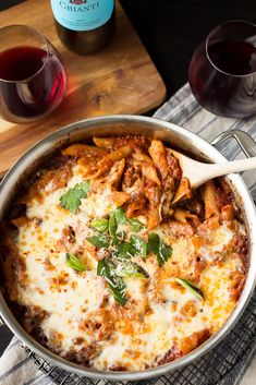 This recipe for One Pot Pasta Bake with Sausage and Red Wine may seem complicated to make—but believe us, it's surprisingly simple! Inspired by the classic flavors of Kroger's Taste of Italy collection, this cheesy dish is perfect for fall.